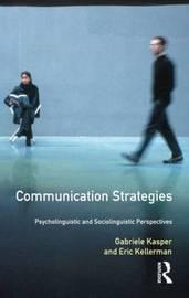 Communication Strategies by Gabriele Kasper image