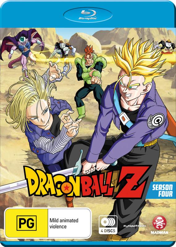Dragon Ball Z - Season 4 on Blu-ray