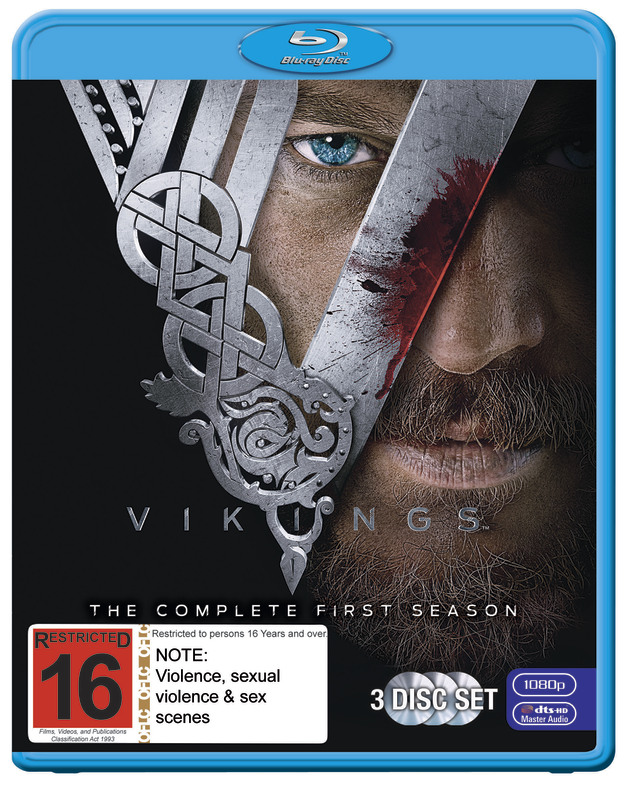 Vikings Season 1 | Blu-ray | On Sale Now | at Mighty Ape NZ