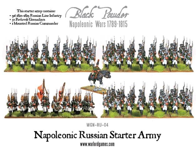 Napoleonic Wars: Russian Starter Army