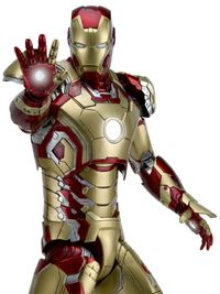 Iron Man 3 - Iron Man Mark XVII 1:4 Scale Action Figure