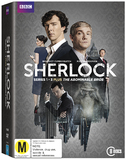 Sherlock: Series One - Three & The Abominable Bride DVD