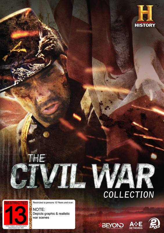 The Civil War Collection on DVD