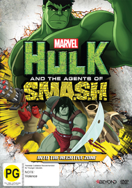 Hulk And The Agents Of SMASH: Into the Negative Zone DVD