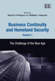 Business Continuity and Homeland Security, Volume 1 image