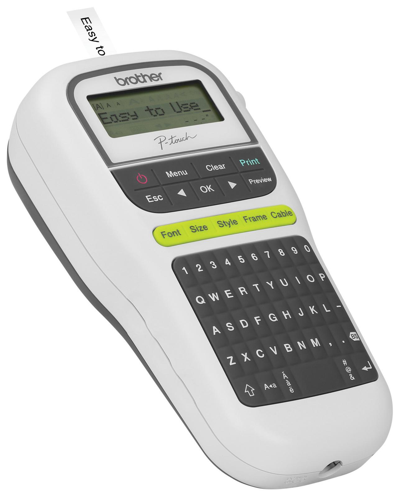 Brother PT-H110 Portable Label Maker (White) image