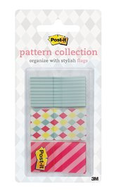 Post-it Flags Dispenser Pack - Carnival Pattern (60 Pack)