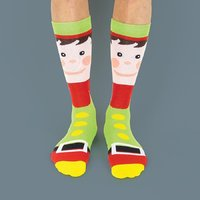 Festive Socks - Elf