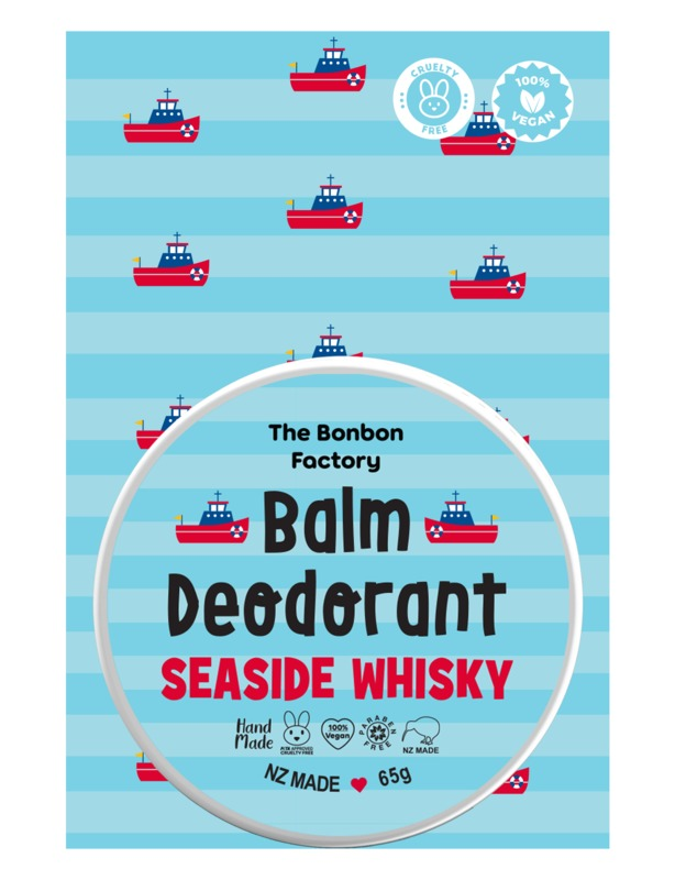 The Bonbon Factory Sea Side Whiskey Deodorant
