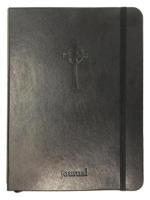 The Celtic Cross Essential Journal (Black Leatherluxe(r)) by Ellie Claire image