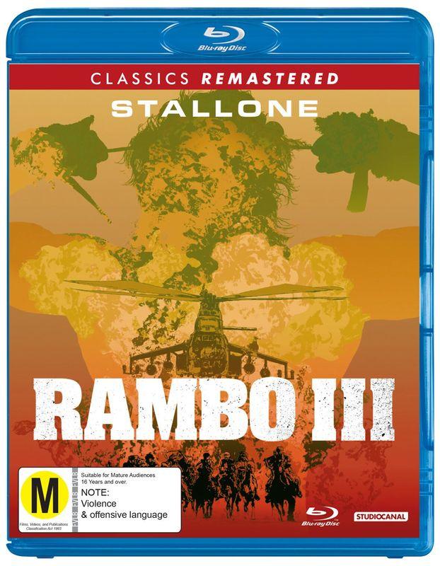 Rambo: First Blood Part III on Blu-ray