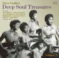 Dave Godin's Deep Soul Treasures by Various image