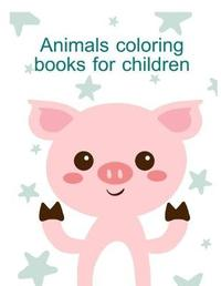 Animals Coloring Books for Children by Harry Blackice