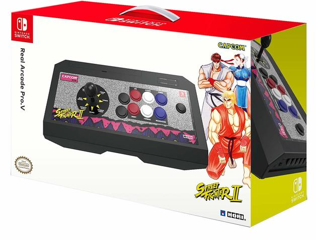 Switch Real Arcade Pro Street Fighter (Classic) by Hori for Switch