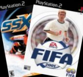 SSX + FIFA 2001 for PlayStation 2