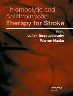 Thrombolytic and Antithrombotic Therapy for Stroke