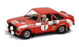 Scalextric Ford Escort MkII Lombard RAC Rally 1/32 Slot Car