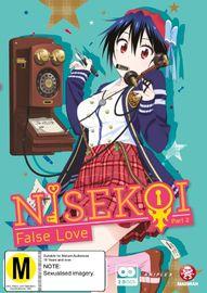 Nisekoi False Love - Part 2 on DVD