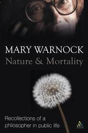 Nature and Mortality by Mary Warnock image