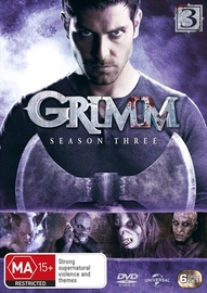 Grimm - Season 3 on DVD