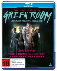 Green Room on Blu-ray