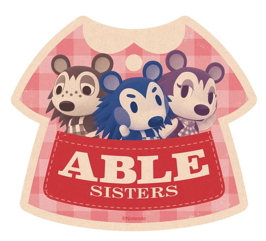 Animal Crossing: Travel Luggage Sticker - Able Sisters #4 image