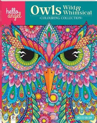 Hello Angel Inspirational Colouring Book: Owl