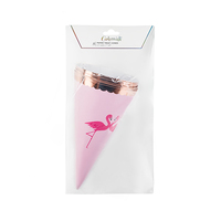 Flamingle Treat Cones