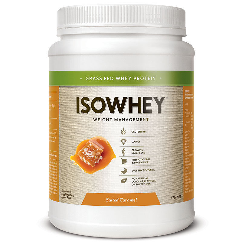 IsoWhey: Weight Management Shake - Salted Caramel (672g) image