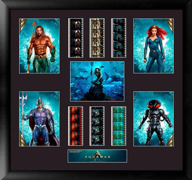 FilmCells: Cast Montage Frame - Aquaman