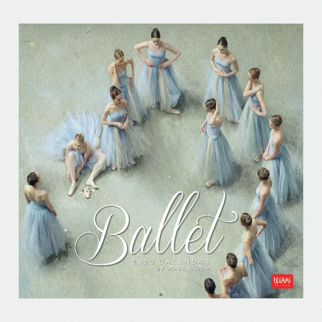 Legami: Ballet 2020 Wall Calendar