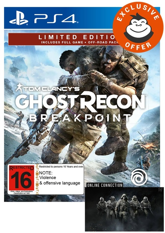 Tom Clancy's Ghost Recon Breakpoint Limited Edition   PS4
