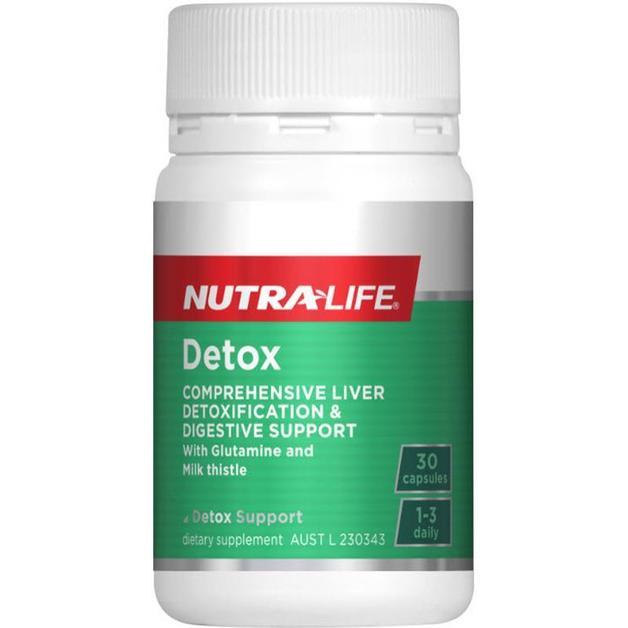 Nutra Life: Detox (30 Caps)