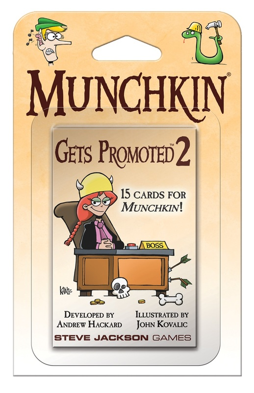 Munchkin: Gets Promoted 2 - Expansion Booster