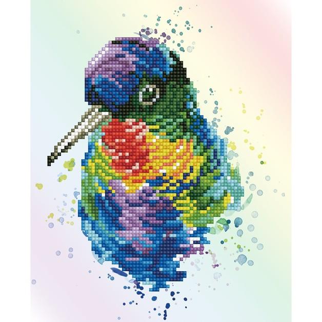 Diamond Dotz: Facet Art Kit - Rainbow Feathers (Intermediate)