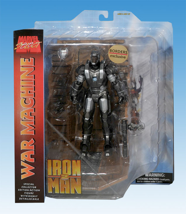 Marvel Select 7-inch Iron Man 2 War Machine Action Figure