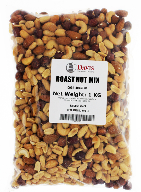 Davis Roast Nut Mix (1kg)
