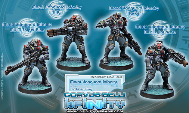 Morat Vanguard Infantry (armas apoyo)
