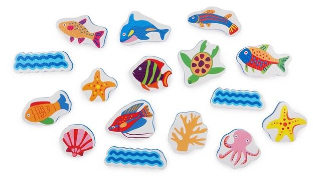 Tolo Toys: Sea World - Bath Sticker Set