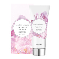 Linden Leaves Crystal Crush Nourishing Hand Cream - Rose Quartz (100ml)