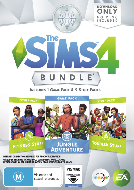 The Sims 4 Bundle Pack 11 (code in box) for PC