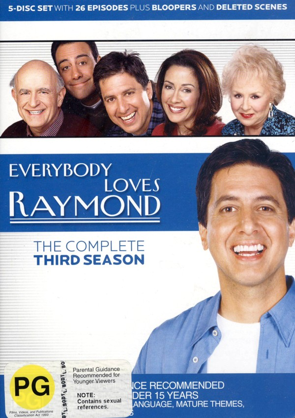 Everybody Loves Raymond - The Complete Third Season (5 Disc Box Set) on DVD image