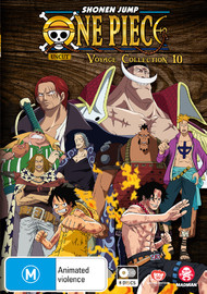 One Piece Voyage: Collection 10 (Episodes 446-491) on DVD