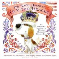 His Royal Dogness, Guy the Beagle by Camille March