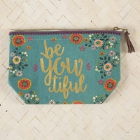 Natural Life: Pouch - Indie Blue Beyoutiful