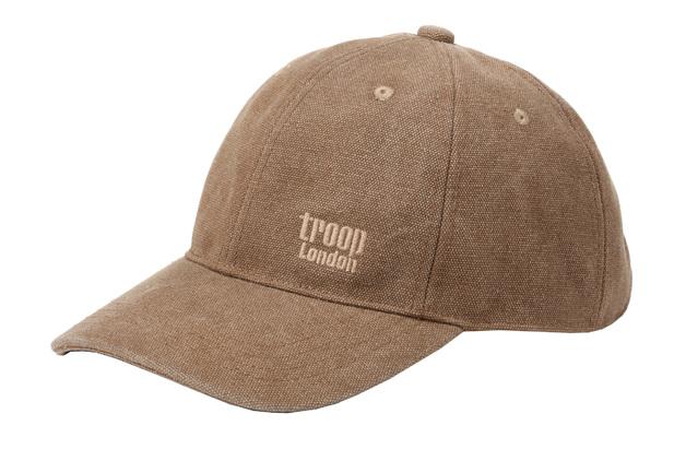 Troop London: Arizona Peaked Cap - Brown