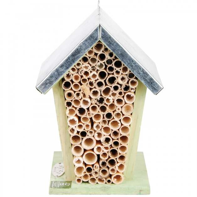 Bee House with Metal Roof