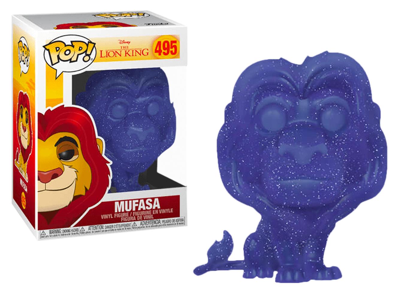 Disney The Lion King MUFASA #495 Pop Vinyl Figure NEW /& IN STOCK NOW Funko Pop