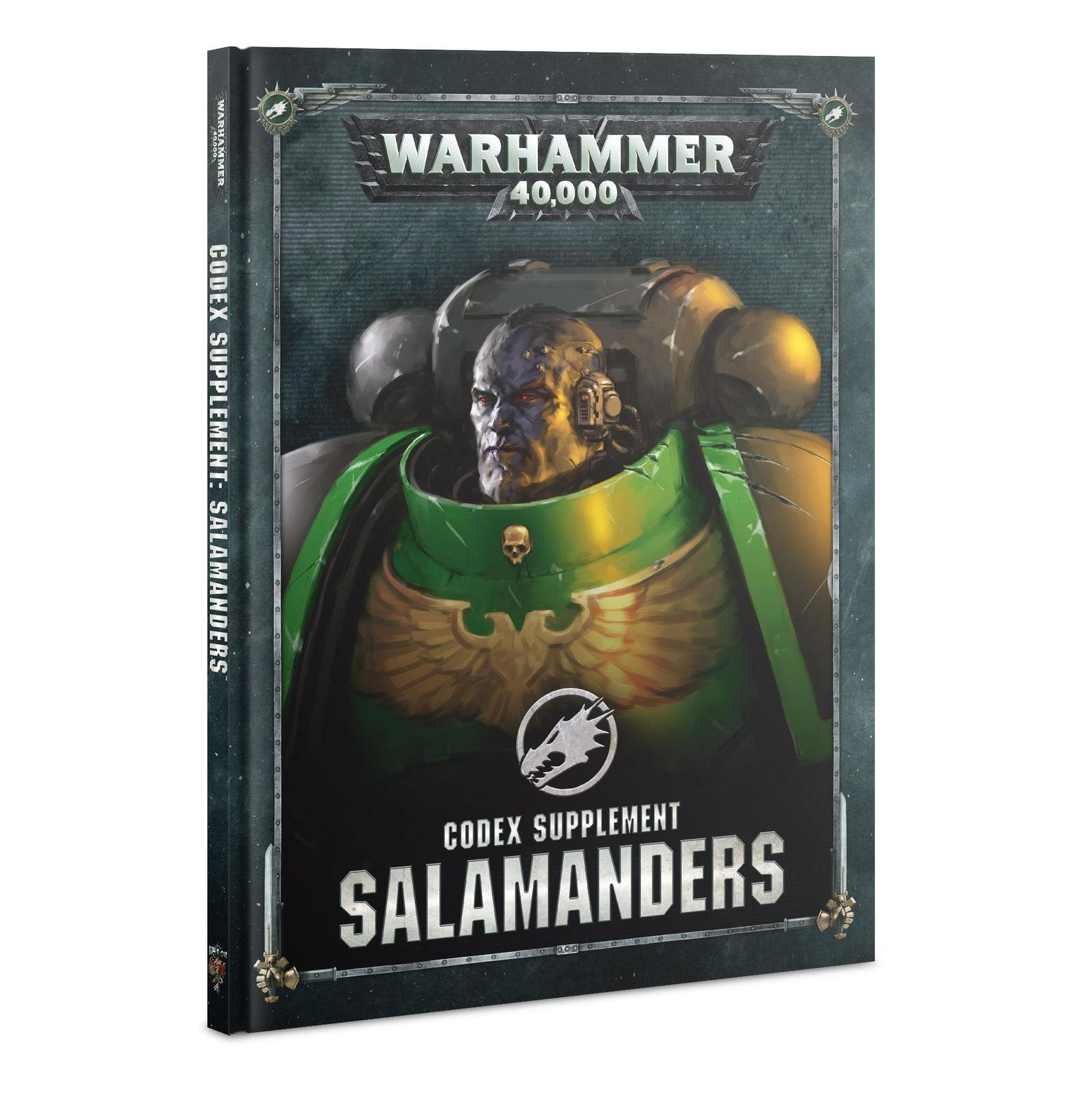 Warhammer 40,000 Codex Supplement: Salamanders image