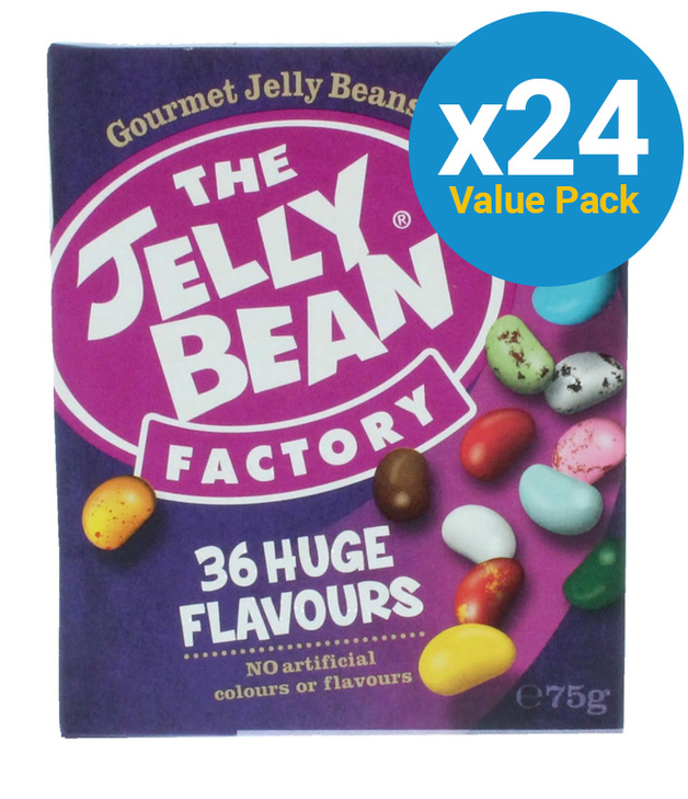 Jelly Bean Factory 75g (24 Pack)